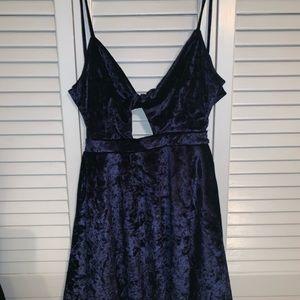 Lulus Velvet Dress